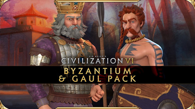 Byzantium and Gaul join Civilization VI
