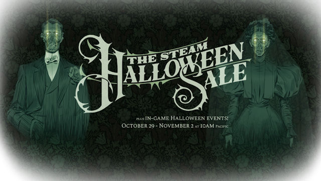 Steam launches Halloween Sale event