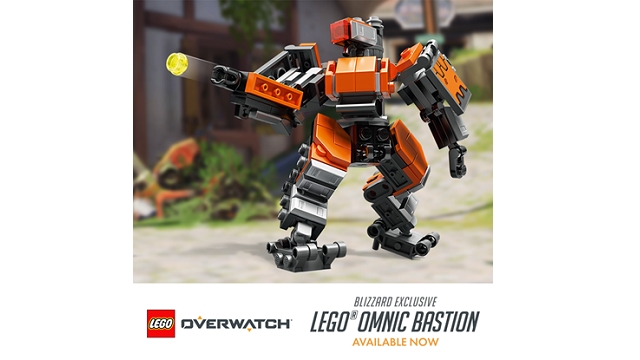 Bastion is first LEGO Overwatch model and is now available