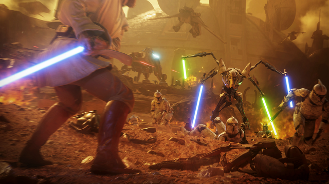 The Battle for Geonosis has begun