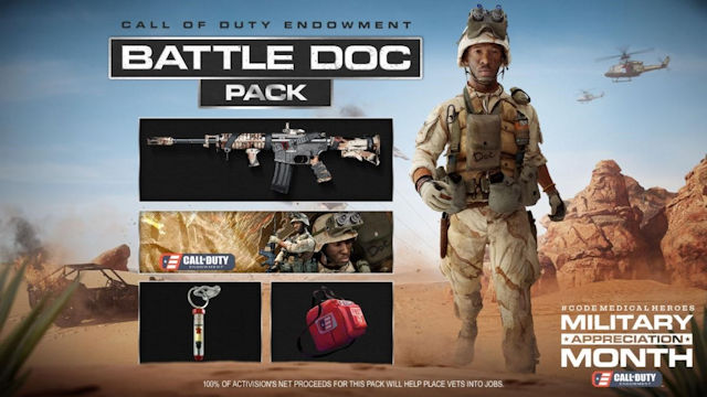Call of Duty Endowment releases Battle Doc Pack