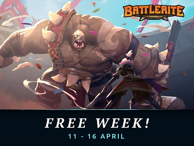 Play Battlerite for free this week