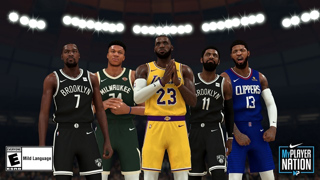 MyPLAYER Nation Playoffs bringing new Nike shoes