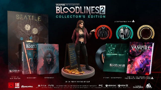Vampire: The Masquerade - Bloodlines 2 Limited Collector's Edition announced