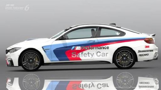 BMW M4 Safety Car coming to Gran Turismo 6