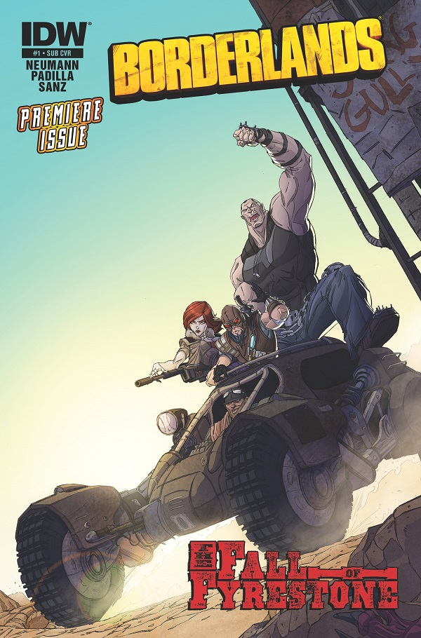 New Borderlands comic coming in July