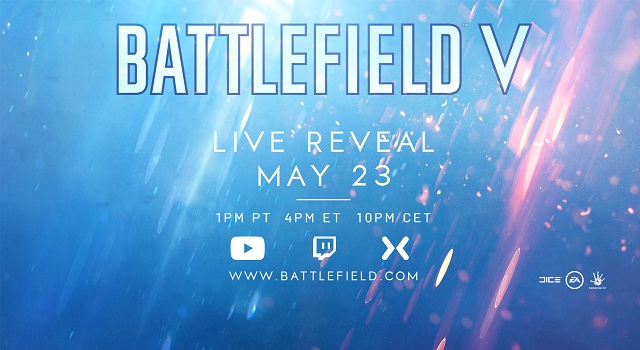 Battlefield V to be revealed in livestream next week
