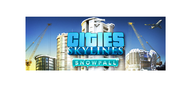 Snowfall drops on Cities Skylines