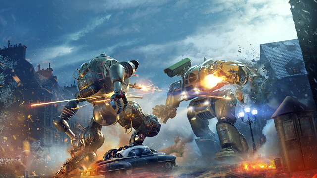 World of Tanks: Mercenaries unleashing mechs