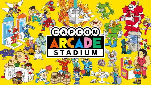 Capcom Arcade Stadium comes to Switch