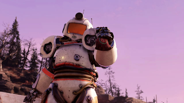 Update 20 released for Fallout 76