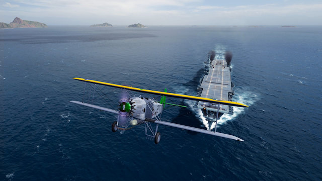 Aircraft carriers sail into World of Warships: Legends