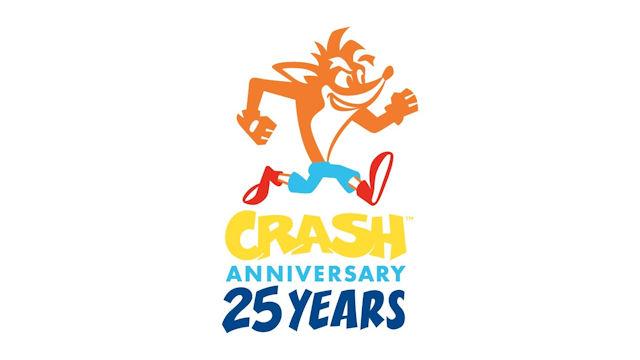 Happy 25th to Crash Bandicoot