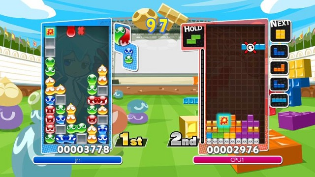 Puyo Puyo Tetris dropping onto PS4 and Switch this spring