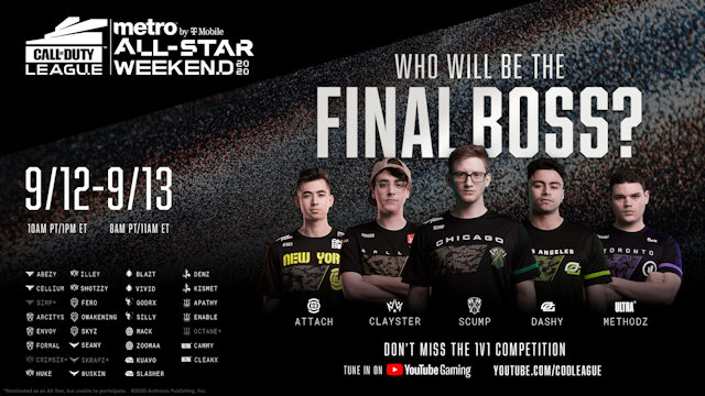 Call of Duty League All-Star Weekend
