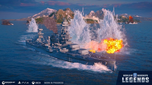 World of Warships: Legends heading into final closed beta