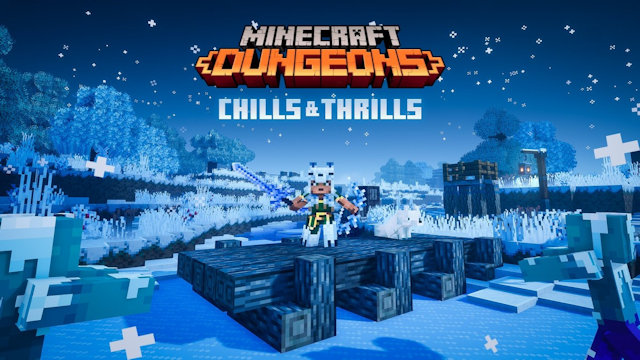 Minecraft Dungeons gets a little chilly