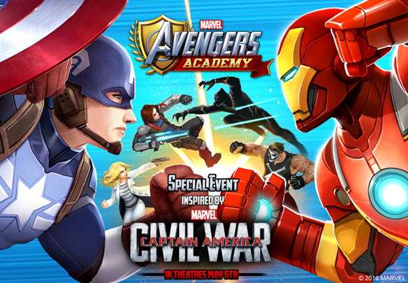 Civil War spreads to MARVEL Avengers Academy
