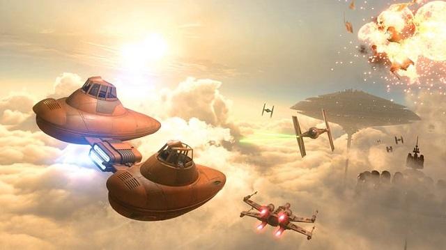 Star Wars Battlefront arrives at Bespin