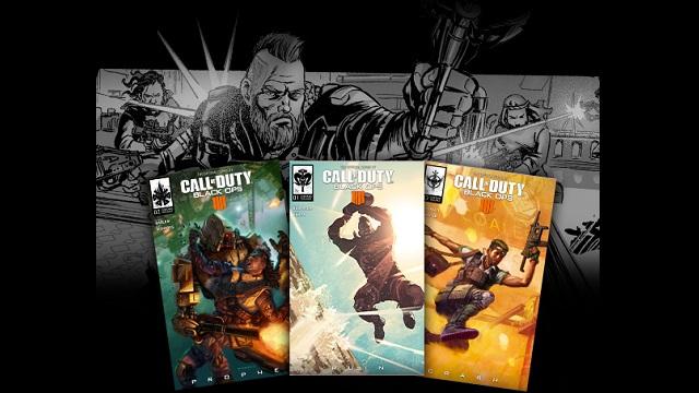 Free Black Ops 4 comic series debuts