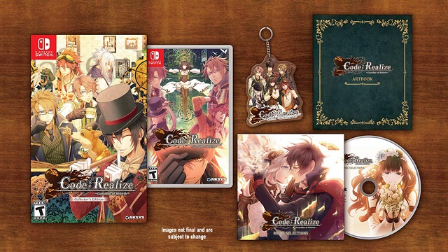 Code: Realize -Guardian of Rebirth- launch realized