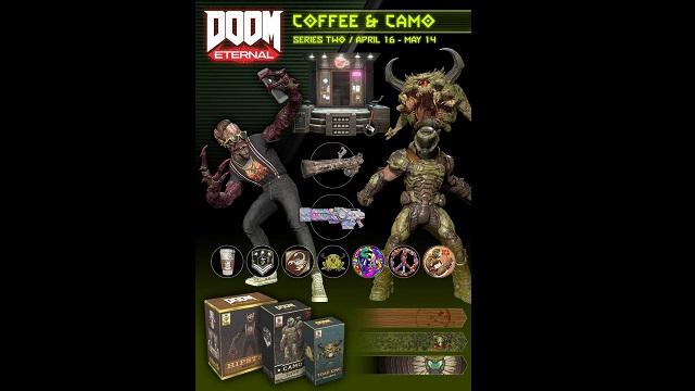 DOOM Eternal serves up coffee and camo