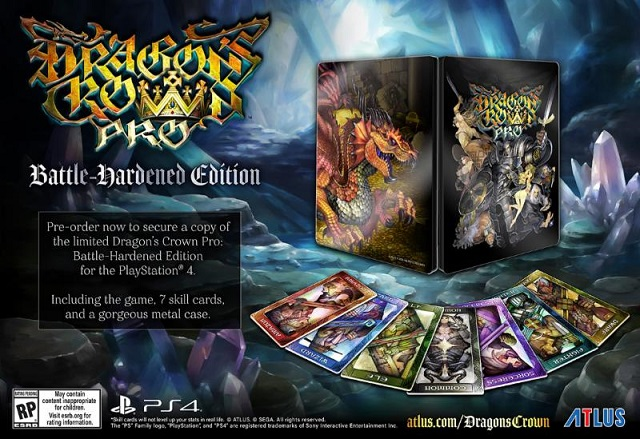 Dragon's Crown Pro Battle-Hardened Edition revealed
