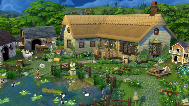 The Sims move to the country