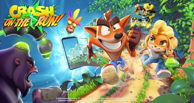Crash making a run for mobile