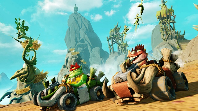 Crash Team Racing Nitro-Fueled going prehistoric