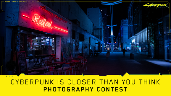 Cyberpunk 2077 photography contest