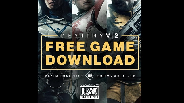 Get Destiny 2 for free on PC