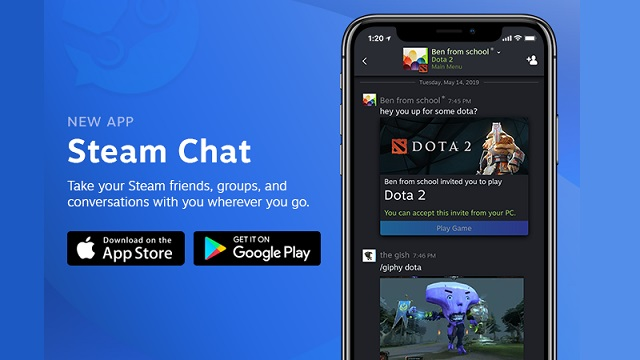 Steam Chat app released on mobile - News From The Gamers' Temple