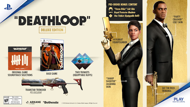 DEATHLOOP release date set and Deluxe Edition revealed