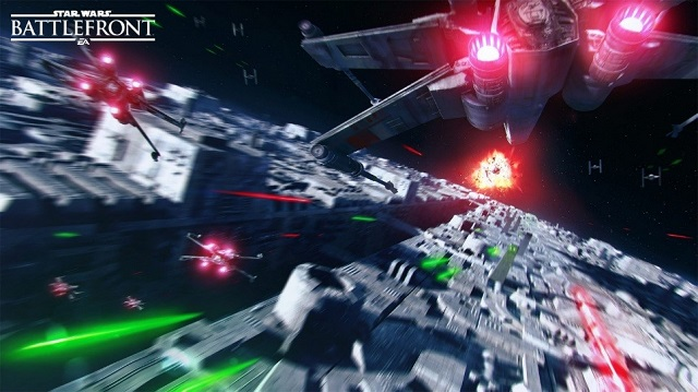 The Death Star arrives in Star Wars Battlefront