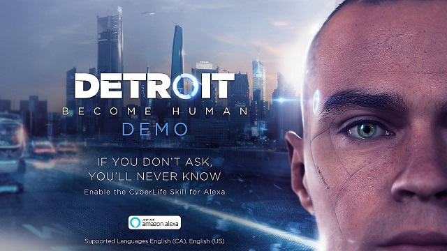 Detroit: Become Human demo available soon - will include Alexa Skill