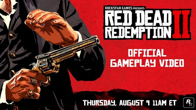 Red Dead Redemption 2 gameplay video coming