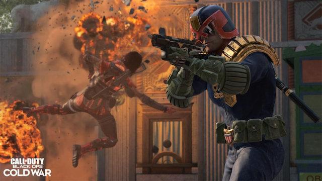 Judge Dredd joins Black Ops Cold War