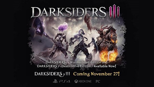 Pre-order Darksiders III and play Darksiders now