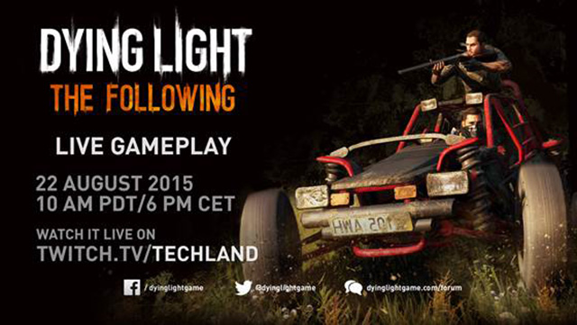 Dying Light devs to livestream The Following gameplay