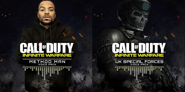 Call of Duty: Infinite Warfare releases two new multiplayer voice over packs