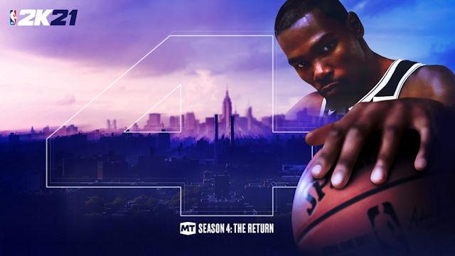NBA 2K21 MyTEAM launches Season Four