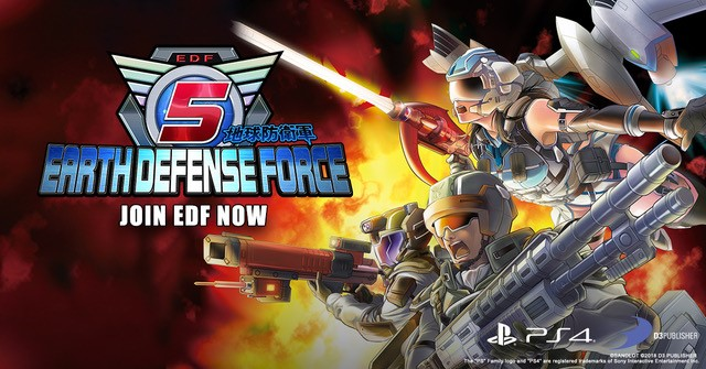 Earth Defense Force 5 deployed