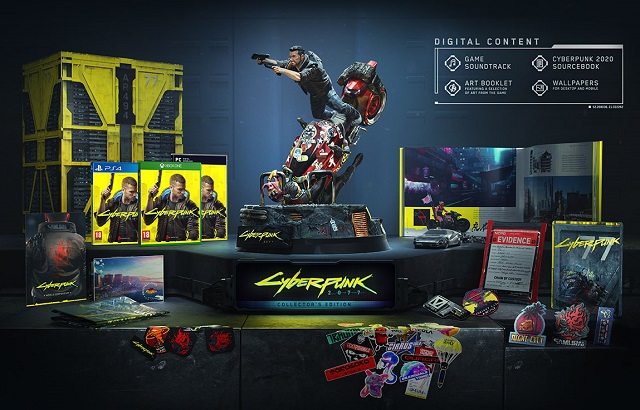 Cyberpunk 2077 release date and Collector's Edition revealed