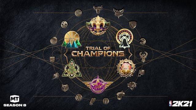 NBA2K21 launching Trial of Champions