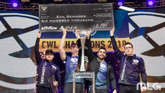 2018 Call of Duty World League Champions crowned