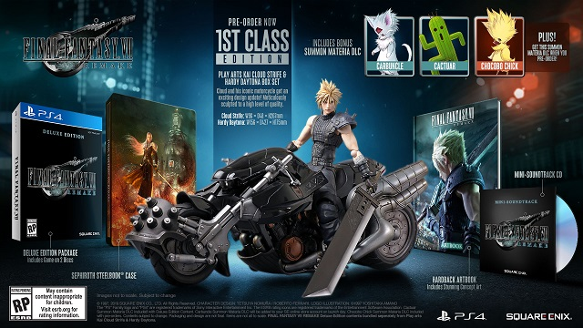 Final Fantasy VII Remake special editions revealed