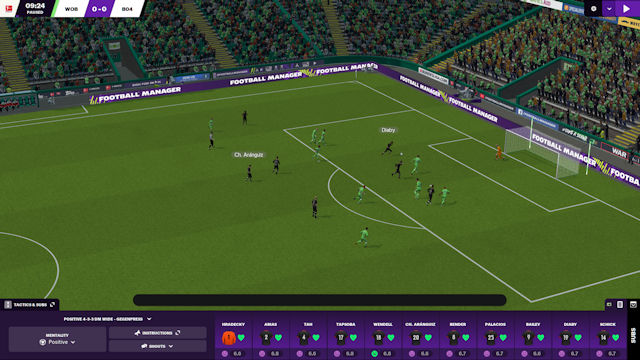 Football Manager 2021 takes the pitch