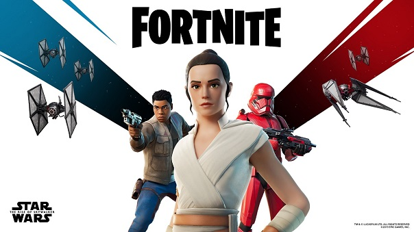 Star Wars: The Rise of Skywalker footage will premiere in-game in Fortnite