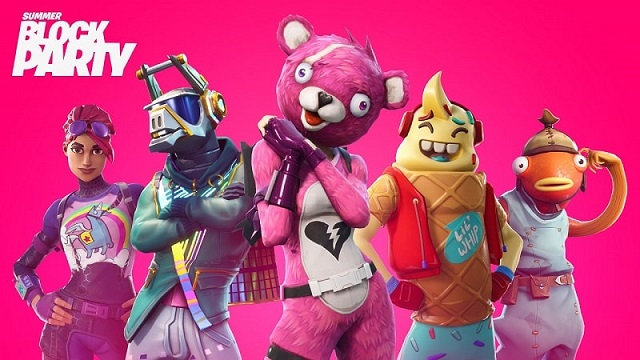 Watch the Fortnite Summer Block Party live this weekend